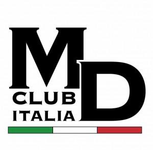 Il logo provvisorio dell'MD Club Italia