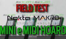 NOKTA-MAKRO MINI E MIDI HOARD: TEST SUL CAMPO